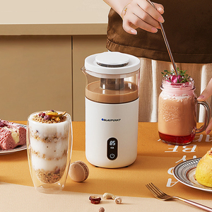 220V Electric Coffee Maker Portable Multictional Milk Tea Machine Automatic Tea Maker Breakfast Oat Machine Temperature Show