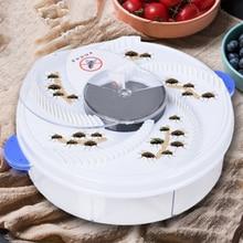 Обновленная версия USB мухоловка Автоматическая ловушка для вредителей убийца электрическая ловушка для ловушек для устройства насекомых в...