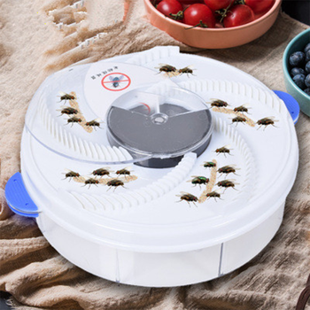Upgraded Version USB Flytrap Automatic Pest Catcher Fly Killer Electric Fly Trap Device Insect Pest Reject Control Catcher