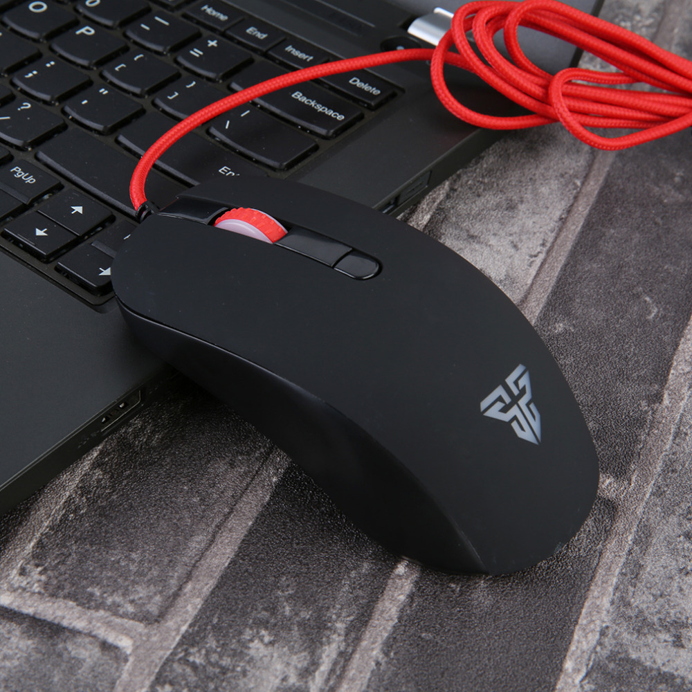 Fantech Gaming Mouse LED Optical USB Wired Mouse Gamer Black Game Mause For PC Computer Laptop Mouse Sem Fio Drop Shipping