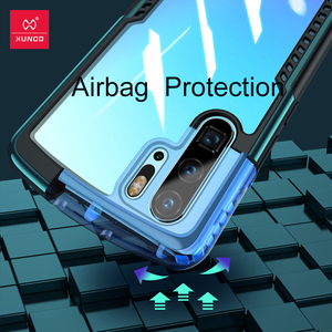 Image 2 - Xundd kılıfı için Huawei P30 Pro kılıf şeffaf kapak yumuşak geri monte koruyucu kapak kabuk için hava yastığı Huawei P30 Pro coque