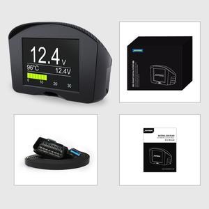 Image 5 - AUTOOL X50 Plus OBD2 Display Speedmeter Auto On board Computer Car OBD Smart Digital Voltage Speed Meter Temperature Gauge Alarm