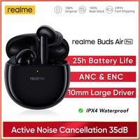 Realme Buds Air Pro ANC ENC cancellazione attiva del rumore auricolare Bluetooth 5.0 10mm Bass Boost Driver cuffie auricolare Wireless