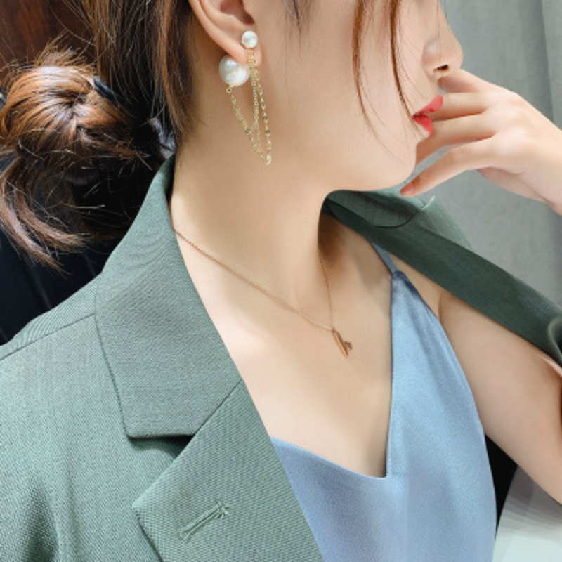 New Fashion Elegant Pearl Earrings For Women Trendy Korean Earrings Jewelry Best Gify For Gift For Wedding Party