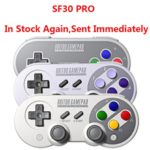 цена на Official 8BitDo SF30 Pro Wireless Bluetooth Gamepad Controller with Joystick for Windows Android macOS Nintendo Switch Steam