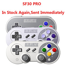 Oficial 8BitDo SF30 Pro inalámbrica Bluetooth Gamepad controlador con Joystick para Windows Android macOS Nintendo interruptor de vapor(China)