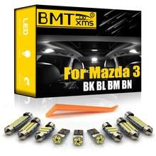 Bmtxms canbus para mazda 3 bk bl bm bn 2004-2020 veículo led interior cúpula mapa tronco luz kit de atualização iluminação do carro acessórios