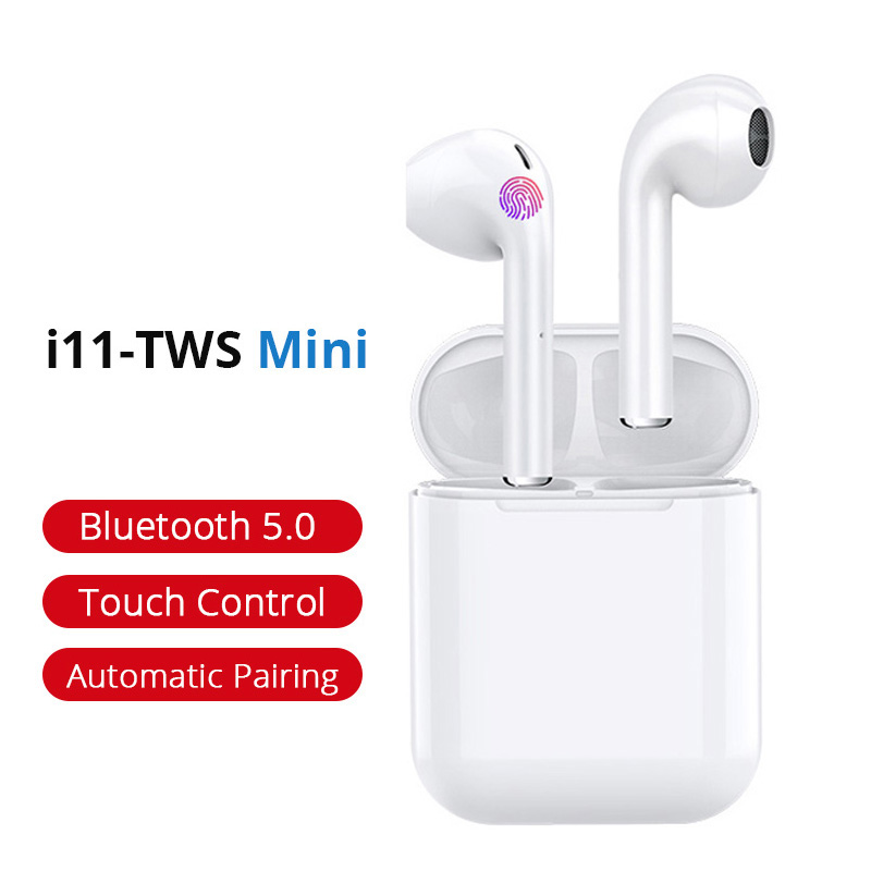 i11 TWS Wireless Stereo Bluetooth Earphones Earbuds Air Headset Sports Earphone earpieces for iPhone Android PK i7 i9s i10 i12