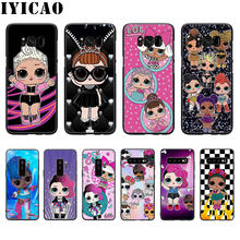 LOL Doll Soft Silicone Case for Samsung Galaxy S10 S9 S8 Plus S10E S6 S7 Edge Phone TPU Cover(China)
