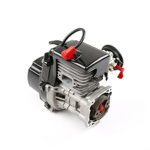 Image 4 - 45cc Single Cylinder Two Stroke 4.35 Hp Four Point Fixed Easily Starting Engine Ffor 1/5 Rovan HPI KM BAJA RC Car