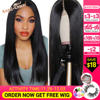 Brazilian Straight Lace Front Wigs For Women 13x4 13x6 Remy Human Hair Wigs With Baby Hair Natural Hairline Angel Grace Hair