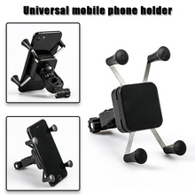 Newly Bicycle Universal Mobile Phone Stand Holder Motorcycle GPS Cell Bracket Mount  BFE88