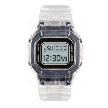 Часы детские электронные цифровые светодиодные наручные с силиконовым