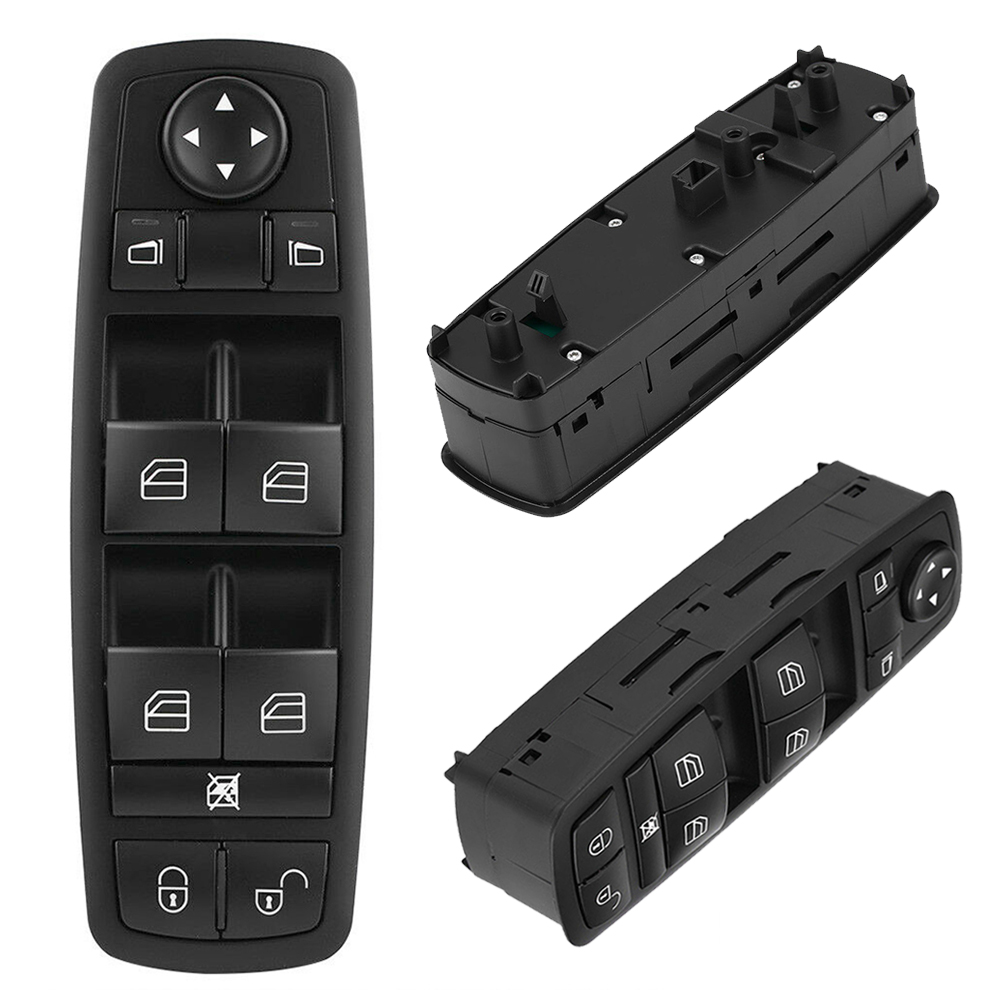 1698206610 Front Left Master Power Window Control Switch Button For Benz A B Class W169 W245 X164 W251 2004-2012 <font><b>A1698206610</b></font> image