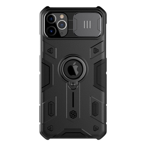 Image 1 - For IPhone 11 Pro durumda NILLKIN Lens koruma CamShield zırh vaka For iPhone 11 Pro Max ile halka Kickstand ve slayt kapağı
