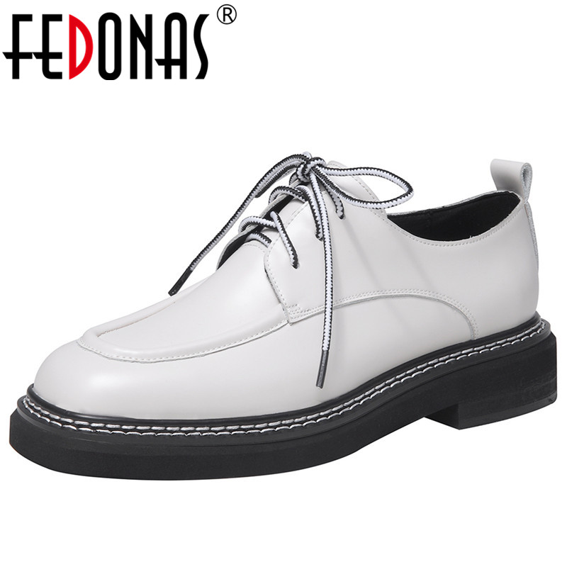 FEDONAS Classic Design Pumps Women Spring Autumn Four Season Casual Basic Party Shoes Woman Cross-Tied Square Toe Shallow Pumps