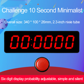 Challenge 10 Seconds 6 Gears 23 Gears Adjustable Timer Adjustable ProbabilitySimple and Silent