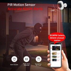 Image 3 - 1080P WIFI Battery Camera IP Outdoor Rechargeable Wireless IP Camera PIR Waterproof Motion Detect App View Hiseeu