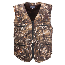 Fishing Vest Men's Sleeveless Jackets Camouflage Field Breathable Tactical Vest With Many Multi Pockets Outdoors Waistcoat zuoxiangru hiking tactical vest fishing vest men s m 6xl multi pockets photography jacket camping multi pockets hunting vest