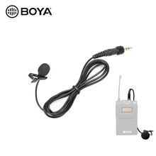 Boya microfone lavalier, microfone para sennhaiser BY-WM6 BY-WM8 pro k2 k1 tx8 pro, wireless, sistema de transmissor, acessórios