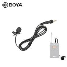 BOYA Revers Lavalier Microfoon voor Sennhaiser BY WM6 BY WM8 Pro K2 K1 TX8 Pro Draadloze Microfoon Systeem Zender Accessoires