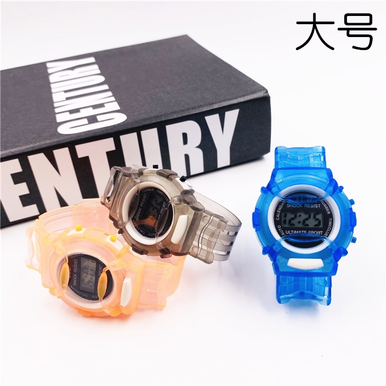 2Piece/set Military Kids Sport Watches Electronic Wristwatch Stop Watch Clock Children Digital Watch For Boys Girls Gift B3876
