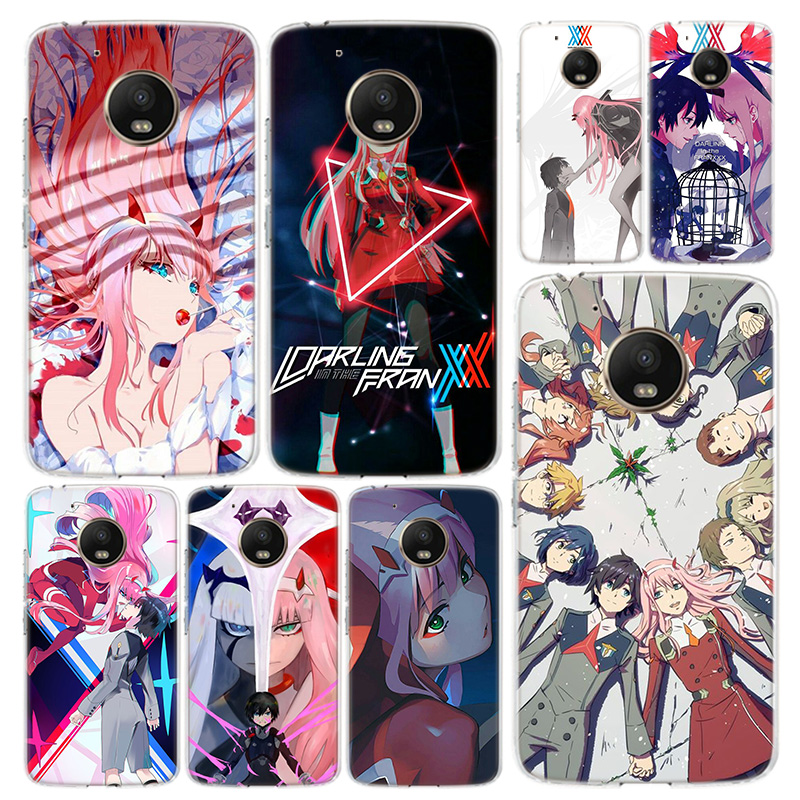 Darling In The Franxx Phone Case Cover For Motorola Moto G8 G7 G6 G5 G5S G4 E6 E5 E4 Power Plus Play One Action Macro Vision Coq
