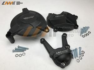 Image 3 - Motocykli pokrywa silnika pokrowiec ochronny dla GB pokrywa wyścigowa dla BMW S1000RR 2009 2016 i S1000R 2009 2016 i HP4 2009 2016