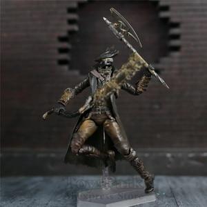 "Image 4 - Game Bloodborne Hunter 6"" Action Figure 1/12 15cm Figures KOs FGM 367 MF Masaki APSY Doll Toys Model Figurine"