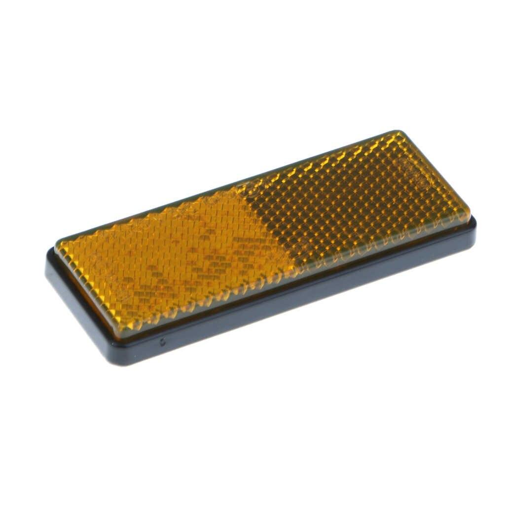 วงจรรถสะท้อนแสงแถบสะท้อนแสง Stick On Self Adhesive 3 สีสีแดง/สีเหลือง/สีขาว