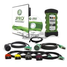 Profesjonalny pojazd ciężarowy narzędzie skanera diagnostycznego Noregon JPro DLA + 2.0 zestaw adapterów flot diagnostyczny jpro