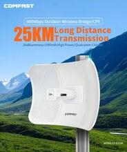 Uzun menzilli 25KM 5GHz Radar köprüsü 900Mbps 1000mW açık CPE kablosuz WiFi tekrarlayıcı genişletici yönlendirici AP erişim noktası WiFi anten