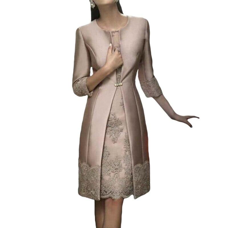 Elegant Dresses For Mother Of The Bride O Neck Bride Mother Dress 2019 Evening Dresses Long Vestidos Longos Madrinha
