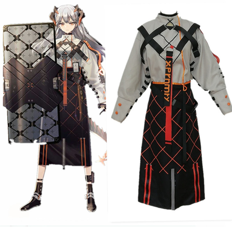 Game Arknights! SkyFire Saria Cosplay Costume Women Cute Dress Halloween Party Carnival Uniforms Costumes Custom Made Full Set