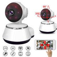 HD WIFI IP Kamera 720P Nachtsicht home Security Kamera Drahtlose P2P Indoor IR cam PTZ IP Camara Audio