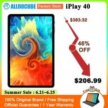 Alldocube iPlay 40 Tablet PC 8GB RAM 128GB ROM Unisoc Tiger T618 2000x1200 FHD 10.4 inch Screen Dual 4G LTE Android 10 ALLDOCUBE