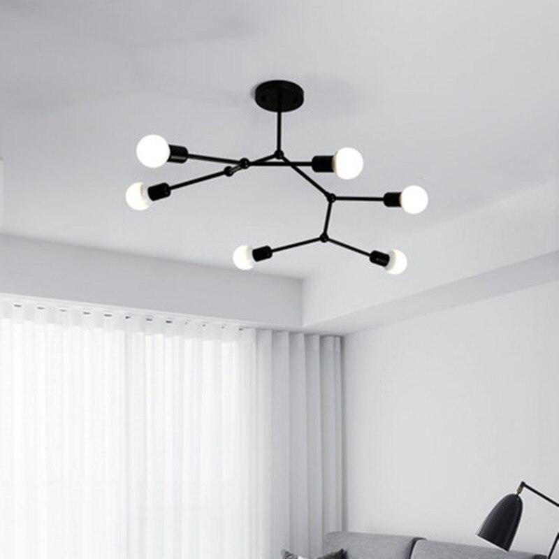 AC90 260V Multiple heads ceiling light 12W Super Bright LED Ceiling Lamp Surface Mounted Led living room lights Pendant Lights     - title=