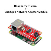 цены Elecrow Raspberry Pi Zero with ENC28J60 Network Adapter Module DIY Learning Kit Compatible with all Raspberry pi Models