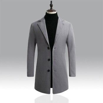 2020 Winter Jackets Windbreaker Coat Men Autumn Winter Warm Outwear Brand Slim Mens Coats Casual Jackets Male Coat Dropshipping 1