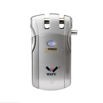WAFU Wireless Smart Electric Door Lock Home Invisible Anti-theft Remote Control Door Lock(WF-018)