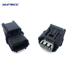 все цены на 1set Sumitomo 3pins male female waterproof cable connector Air intake pressure sensor plug 6188-4775 6189-7037 онлайн