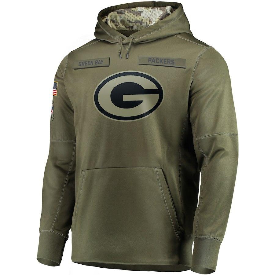 salute to service packers sweatshirt