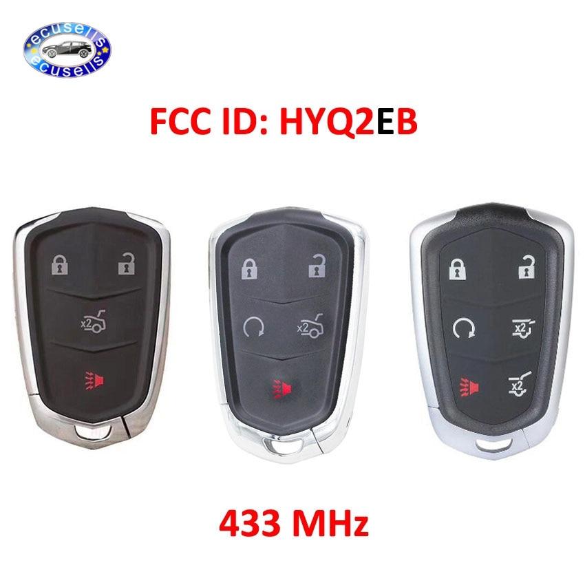 4/5/6 кнопочная лампа для Cadillac ESCALADE /ESCALADE ESV 2015-2019 XTS CTS CT6 ATS 2017-2018 идентификатор FCC: HYQ2EB