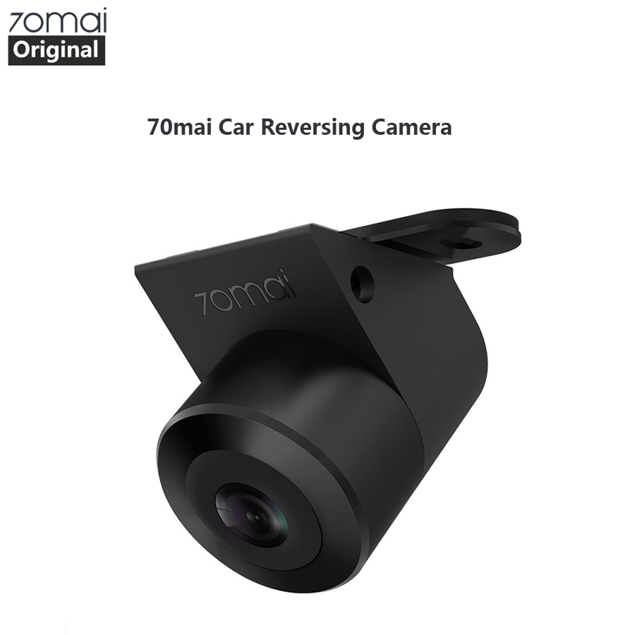 Original 70mai Reverse Camera 70 Mai Car Rear View Wide Rearview Cam Night Vision IPX7 Wide Angle Auto Reversing Double Record