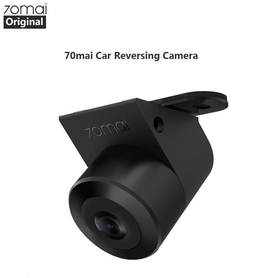 Original 70mai câmera reversa 70 mai visão traseira do carro ampla visão traseira cam visão noturna ipx7 grande angular automático invertendo duplo registro