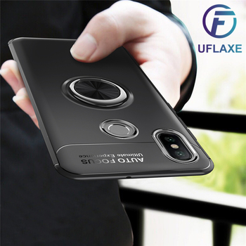 UFlaxe Phone Case for Xiaomi Redmi Note 5 Pro 5A Prime Soft Cover Carbon Fiber impact-resistant Ultra-thin Casing 01YX