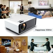 W80 HD Home Projector HDMI/AV/USB/SD/VGA Support Dolby Sound 1+8G Android 6.0 2300 Lumens HDMI USB portable cinema for Home