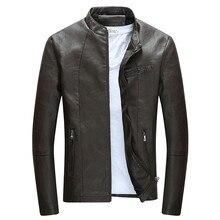 Motorcycle Leather Jackets Men Autumn and Winter Jacket Coats Male Fashion Windbreaker Outwear Fur
