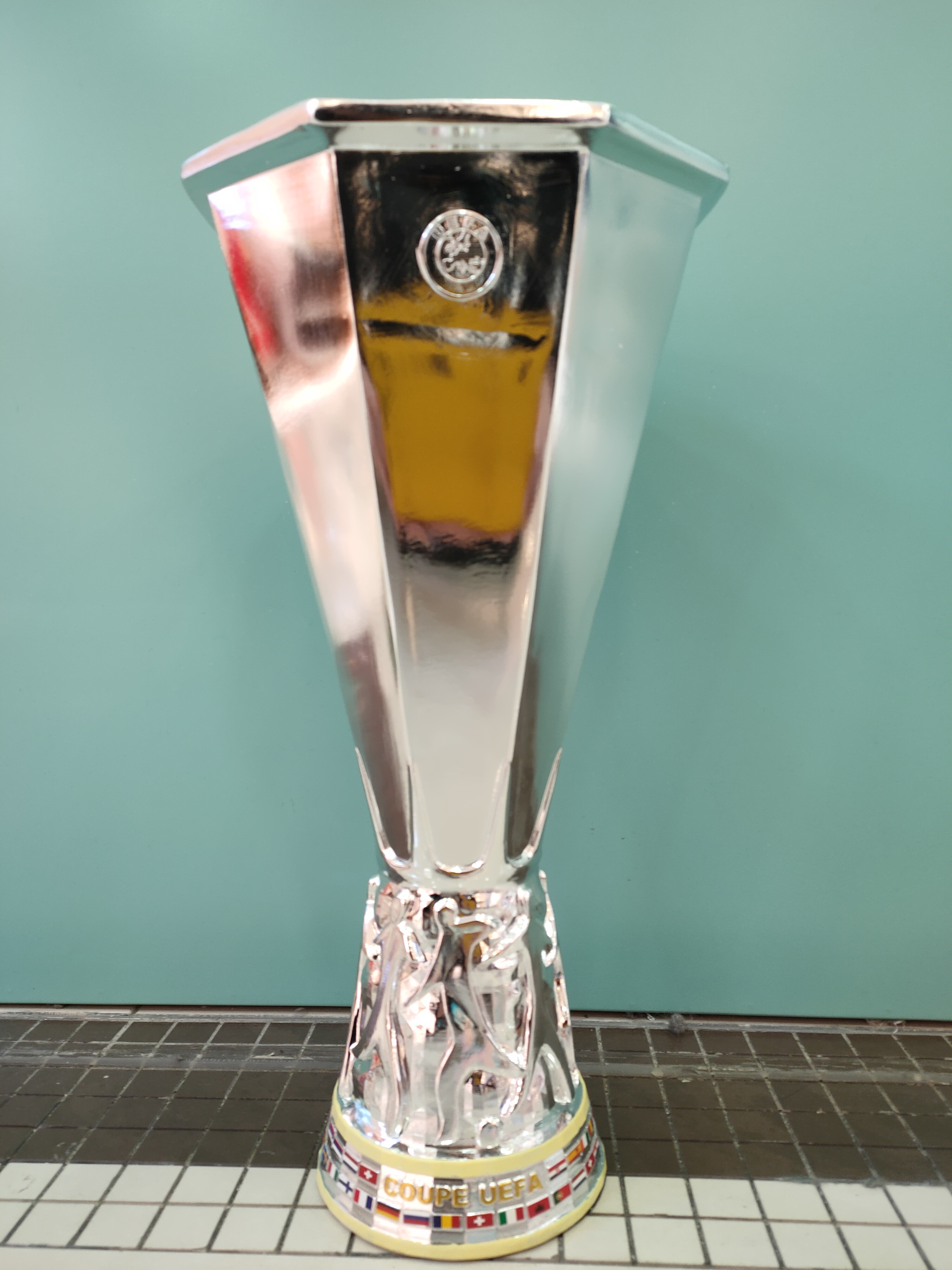 Trophy-Cup Souvenirs Soccer Award Europa League Bertoni The Gift for Nice