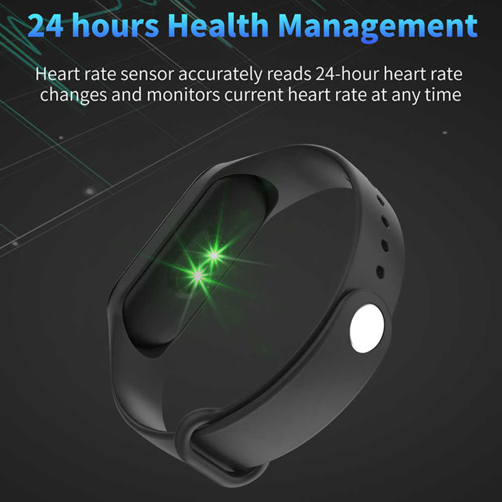 חדש ספורט צמיד חכם שעון גברים נשים Smartwatch עבור אנדרואיד IOS כושר גשש אלקטרוניקה חכם שעון Smartband שעוני יד